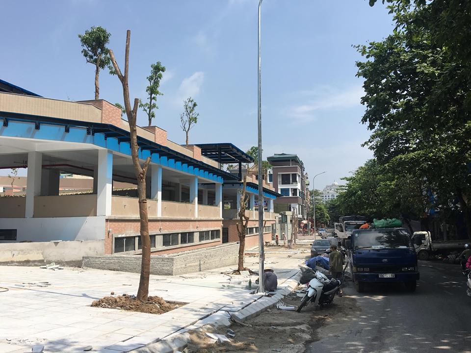 Với hơn 1.000 ki-ốt, sạp hàng, chợ trung tâm Vĩnh Yên sau khi đưa vào sử dụng sẽ là chợ đầu tiên tiểu thương được kinh doanh mà không phải bỏ tiền mua