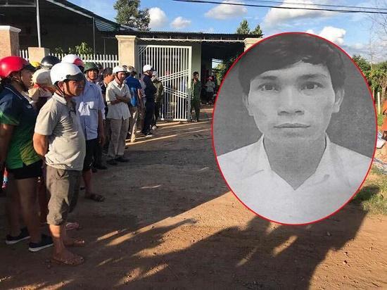 Nghi phạm dùng súng AK bắn người tình tại Đắk Lắk. Ảnh: VTC News