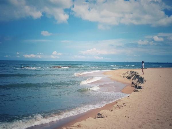 Nơi đây là địa điểm lý tưởng để bạn hòa mình vào với không gian bao la của biển cả. (Nguồn: Thúy Nguyễn )