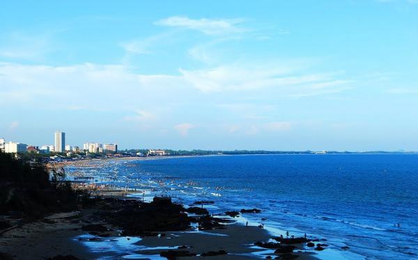 Bãi Sau Vũng Tàu. (Nguồn: panoramio)