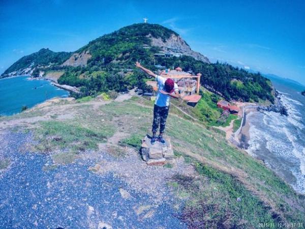 Check in trên đỉnh Nghinh Phong. (Nguồn: toplist.vn)