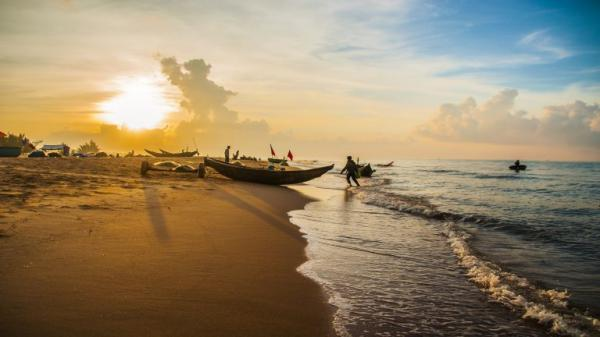 Bãi biển Hồ Cốc Xuyên Mộc, Bà Rịa – Vũng Tàu. (Nguồn: vntrip.vn)