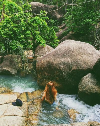 Những dòng nước trong lành và mát rượi. (Nguồn: synbi.nguyen)