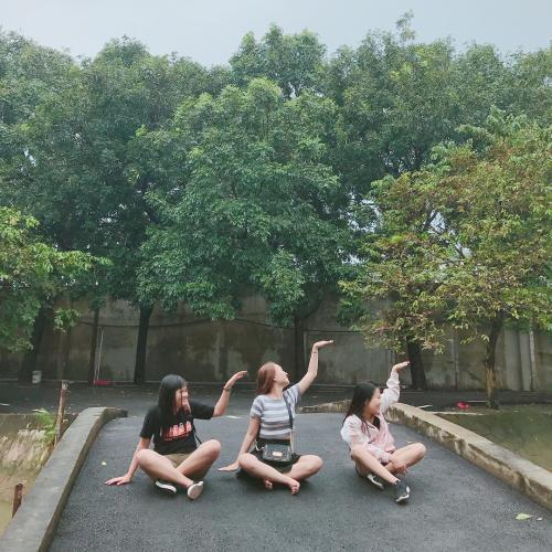 Rất nhiều bạn trẻ chọn Thủy Châu là điểm đến cho chuyến dã ngoại của mình. (Nguồn: immyngoc)