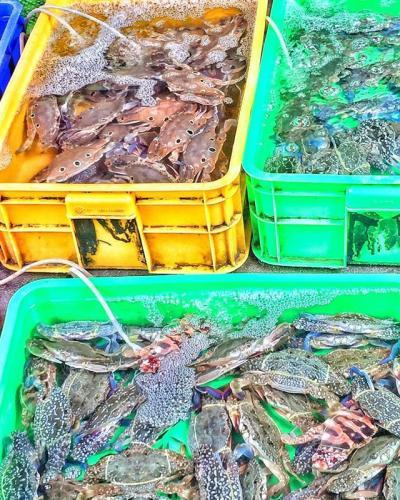 Chợ hải sản. (Nguồn: diadiemanuong.com)