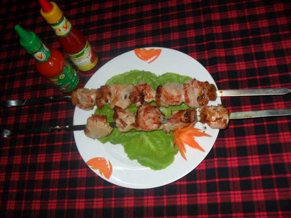 Món thịt nướng kiểu Nga. (Nguồn: diadiemanuong.com)