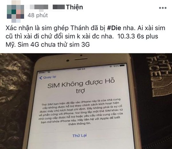 Nhiều người dùng tại Việt Nam phản ánh iPhone lock đã bị vô hiệu hóa. (Ảnh chụp màn hình)