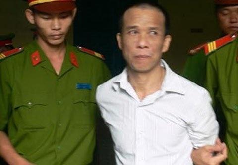 Bị cáo Trần Bình Trọng bị dẫn giải về trại giam (Nguồn: Người lao động)