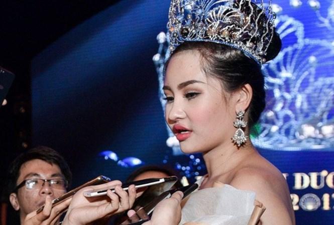 Thanh tra Bộ, Cục NTBD đang thanh tra vụ lùm xùm Hoa hậu Đại dương Việt Nam 2017