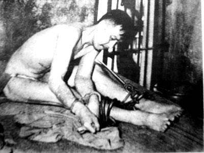 Bạch Hải Đường trong trại giam - Ảnh: Lao động