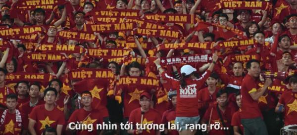 """Hình ảnh khá quen mắt trong MV """"Việt Nam Phong độ đỉnh cao""""."""