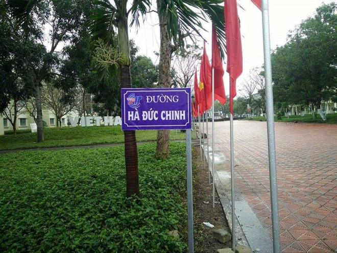 Mới đây, trên các trang mạng xã hội đã xuất hiện hàng loạt bức ảnh như biển tên đường với tên của HLV Park Hang-seo và các học trò U23 Việt Nam.