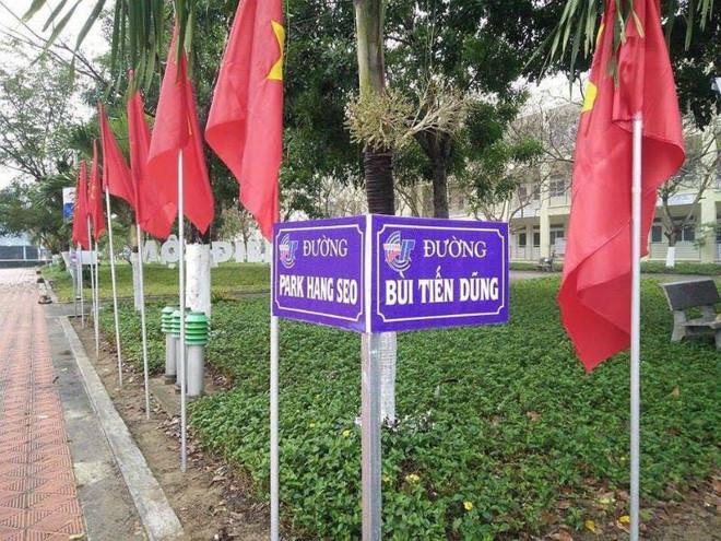 Được biết, đây là khuôn viên Trường Cao đẳng Công nghệ thông tin Hữu nghị Việt - Hàn.