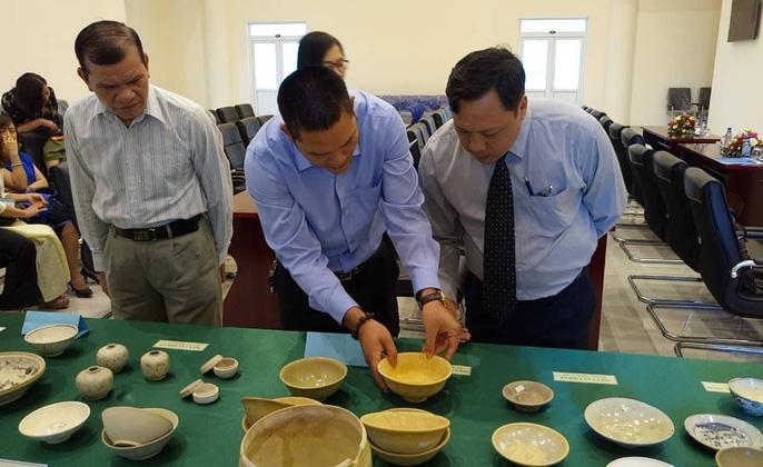 Số cổ vật được hiến tặng cho bảo tàng tỉnh Bà Rịa-Vũng Tàu