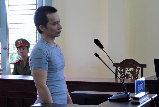 Bị cáo Bỗ tại tòa. Ảnh: Kim Hà.