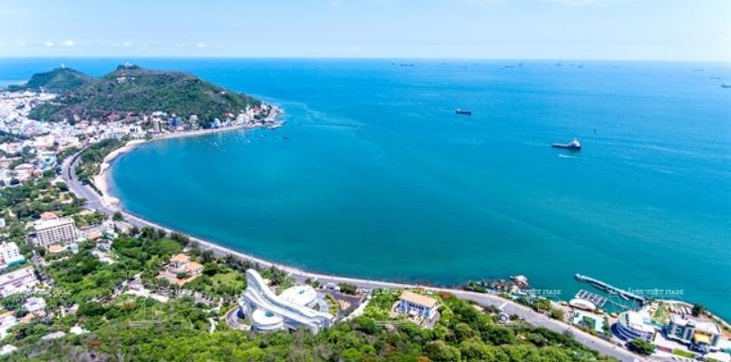 Vũng Tàu là một trong những nơi có nhiều địa điểm du lịch hấp dẫn. (Nguồn: Đức Hợp)