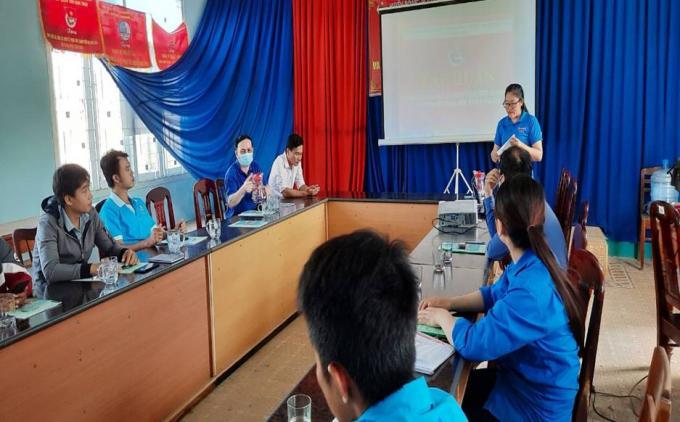 Lớp tập huấn kỹ thuật chăn nuôi và trồng trọt cho đoàn viên và nông dân huyện Ninh Sơn.