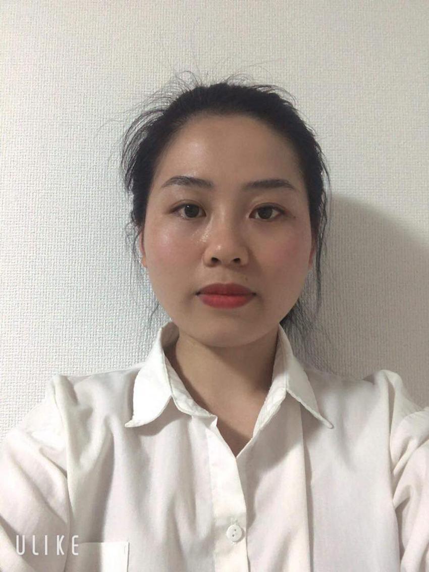 Hình ảnh chị Linh do gia đình cung cấp