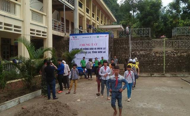Học sinh Mường La (Sơn La) đã tựu trường, chuẩn bị cho khai giảng năm học mới. Ảnh: D.Điệp