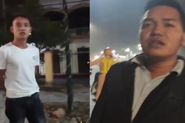 2 người lạ mặt xuất hiện trong đoạn clip
