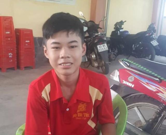 Cháu Tùng và mẹ được tìm thấy tại tỉnh Đồng Nai. Ảnh: Gia đình cung cấp