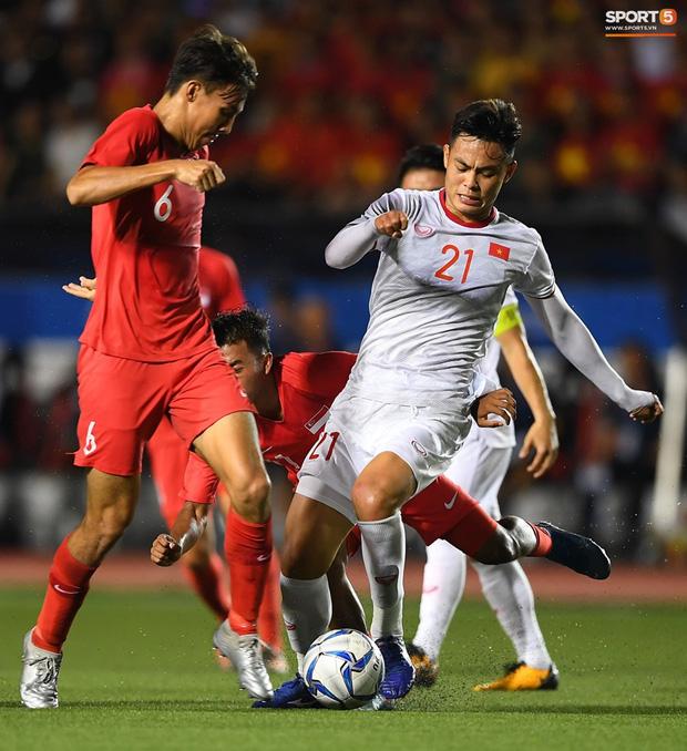 Anh chàng được HLV Park Hang-seo tin tưởng và nhiều lần được ra sân thi đấu ở SEA Games 30.
