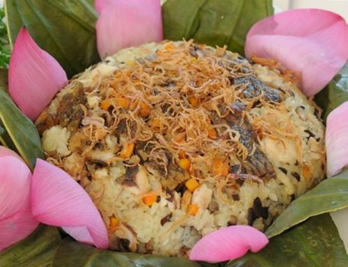 Xôi cá rô Nam Định là món ăn dân dã luôn khiến những người con xa quê