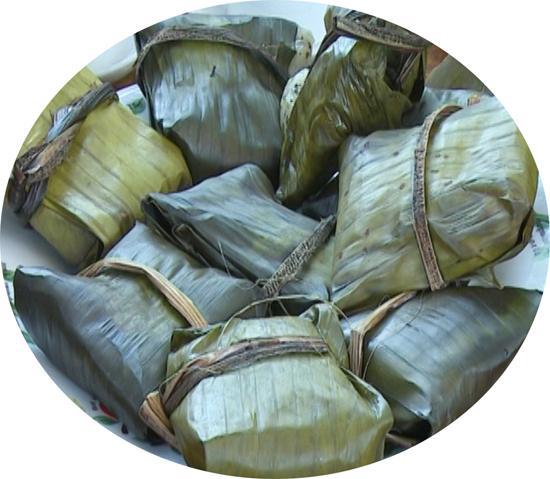 Bánh cá ở xã Yến Mao, huyện Thanh Thủy.