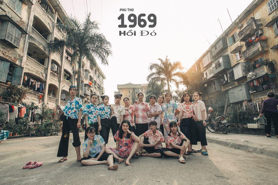 Bộ ảnh kỷ yếu thời bao cấp của học sinh Phú Thọ