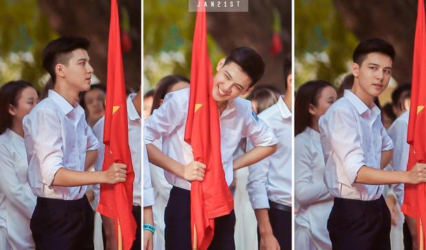 Chàng trai Hà thành chưa từng nghĩ sẽ tới Phú Thọ nhưng đã thay đổi sau lần tới đầu tiên- ảnh minh họa Hồng Đăng- hot boy cầm cờ