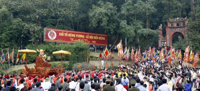 Tỉnh Phú Thọ đã sẵn sàng cho ngày Giỗ Tổ Hùng Vương - Lễ hội Đền Hùng 2018.