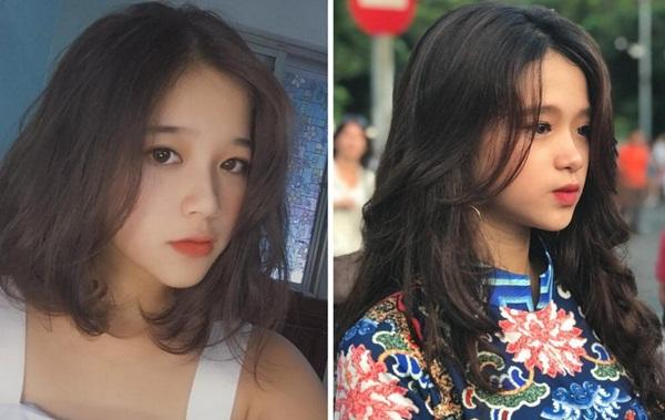 Khánh Ly được chú ý bởi gương mặt tương đối giống với Linh Ka