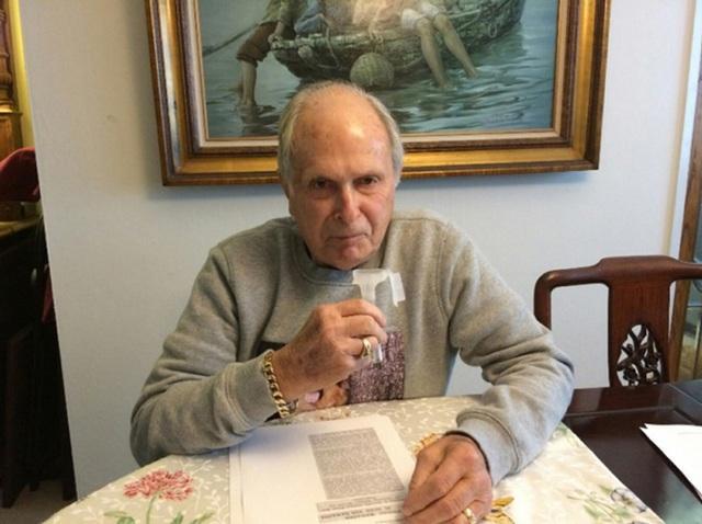 Ông Peter Cook được xác định là con cháu cùng gia phả với bé gái Edith.